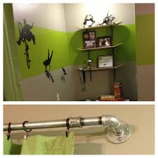 Skate Room Decor Extreme Sports Bedroom Ideas Pipe Bed Bmx Bikes And Themed Rooms