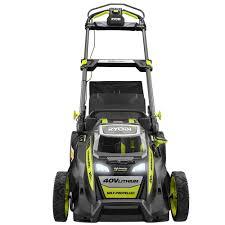 ryobi u0027s new 40v self propelled cordless lawn mower garagespot