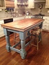 kitchen island butcher block table diy farmhouse kitchen island thats what i m talking about