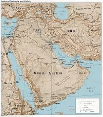 Middle East North Africa Map by A Historical Atlas Of Jordan Library Of Historical Atlases Of Asia