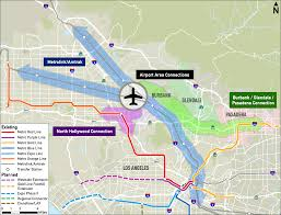 Map Of Los Angeles Airports Bob Hope Airport And City Of Burbank To Hold Workshop Thursday To