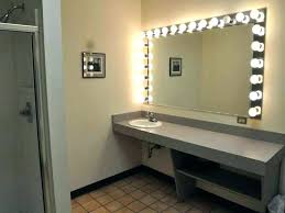 wall mounted hardwired lighted makeup mirror wall mounted hardwired lighted makeup mirror lighted bathroom wall