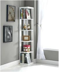 Corner Bookcase Ideas Corner Bookshelves View In Gallery Corner Bookcase With Doors Ikea