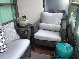 Condo Patio Furniture Toronto The Room Condo Balcony