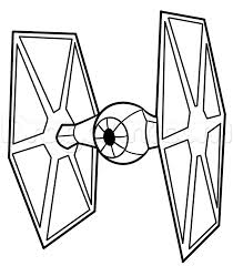 how to draw a tie fighter easy step by step star wars characters