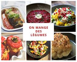 légumes à cuisiner on dine chez nanou on mange des légumes