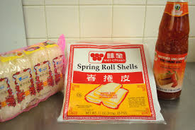 roll sheets the church cook fried egg rolls