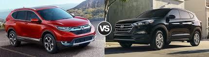 compare honda crv and hyundai tucson 2017 honda cr v vs hyundai tucson highland park il