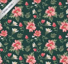 20 vintage floral patterns photoshop patterns freecreatives