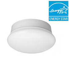 3 Bulb Flush Mount Ceiling Light Fixture by Commercial Electric 7 In Daylight White Led Flushmount Ceiling