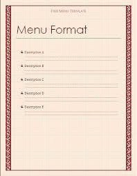 lunch menu template free menu templates for word lunch menu template png pay stub template