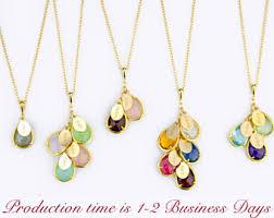 children s birthstone jewelry childrens birthstone necklace for necklace