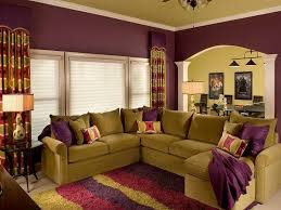 living room complementary purple colors interior design quakerrose