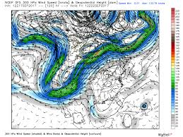 Jet Stream Forecast Map Mother Nature Is Getting Busy