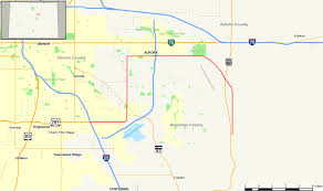 Colorado County Map by Colorado State Highway 30 Wikipedia