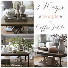 coffee table styling coffee table ideas with tray round easy