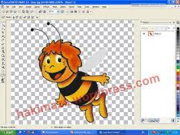 membuat gambar transparan di corel draw x7 membuat file png dengan corel kang hakim menulis