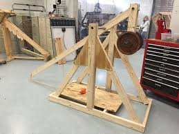 physics building catapults