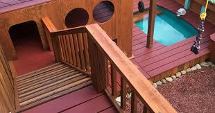 Dog Backyard Playground by Owner Transforms His Backyard Into A Large Playground With Private