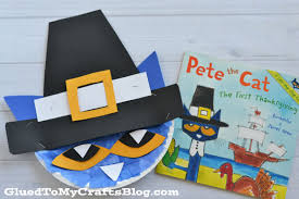 pete the cat pilgrim kid craft