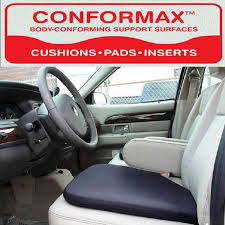 conformax anywhere anytime car truck gel seat cushion