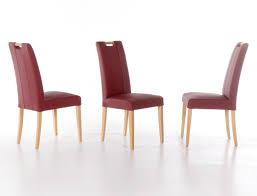 Lederstuhl Esszimmer Grau Stuhl Samia Kunstleder Polsterstuhl Varianten Esszimmerstuhl
