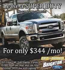 ford lease brighton ford no or gimmicks here lease a ford duty