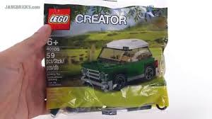 lego mini cooper polybag lego creator mini cooper small polybag set review 40109 video