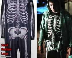 Skeleton Costume Halloween Donnie Darko Skeleton Costume Men Suit Halloween Cosplay