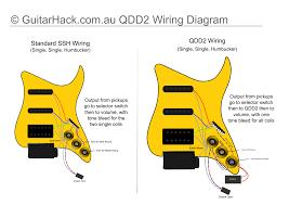 artec qdd2 onboard guitar distortion guitar effects diy