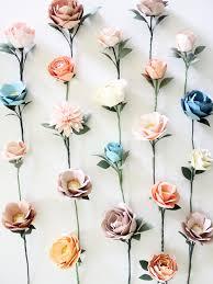 paper flower paper flower wall handmade by