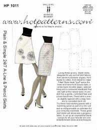 pattern for simple long skirt hotpatterns 1011 plain and simple 24 7 a line and pencil skirts