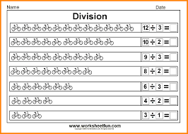 Simple Division Worksheets 6 Beginning Division Worksheets Math Cover
