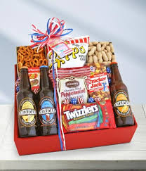 snack basket american snack and soda basket at from you flowers