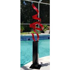 red perfect moment 24 huge red contemporary indoor outdoor