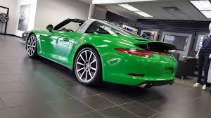porsche viper green 2016 porsche 911 targa 4s for sale columbus ohio youtube