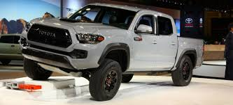 toyota tacoma tire size 2017 toyota tacoma trd pro specs features and release date
