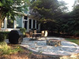 Backyard Fire Pit Design by Raleigh Outdoor Fire Pit Builder