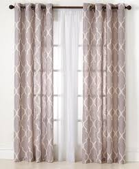 elrene medalia window treatment collection easy care linen look