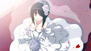 wedding dress anime wedding dress anime girl 3m wallpaper hd