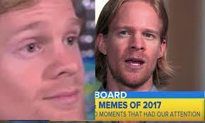 Viral Meme - who is the blinking white guy in the gif drew scanlon talked