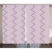 Pastel Purple Curtains Chevron Purple Curtains U0026 Drapes You U0027ll Love Wayfair