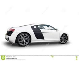 sports cars side view side view of audi r8 sports car stock image image 72189791