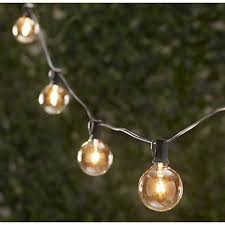 vintage string lights 25 25 sockets bulbs included
