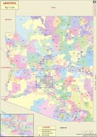 Mesa Arizona Map by Arizona Zip Code Map Arizona Postal Code