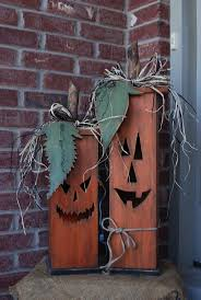Wood Halloween Crafts 20 Best Wood Blocks Images On Pinterest Holiday Crafts