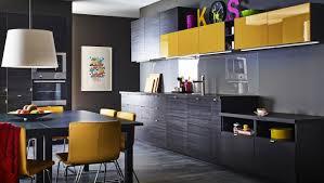 ikea amenagement cuisine cuisine brun noir ikea photos de design d intérieur et