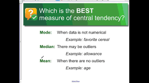 Choosing The Best Ideas For Ideas Collection Choosing The Best Measure Of Central Tendency