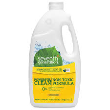 Consumer Reports Dishwasher Detergent Amazon Com Seventh Generation Dishwasher Detergent Gel Soap