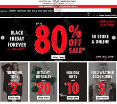forever 21 black friday 2017 sale outlet deals store hours